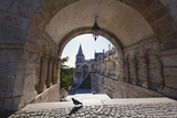 Arch, Fishermans Bastion, Budapest Photographic Print by George Oze