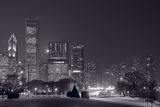 Lake Shore Drive Chicago BW Photographic Print by Steve Gadomski