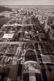 Chicago's Front Yard BW Photographic Print by Steve Gadomski