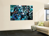 Punisher No.8 Group: Beast, Captain America, Thor and She-Hulk Wall Mural by Tan Eng Huat