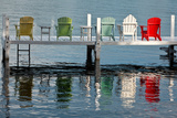 Lakeside Living Photographic Print by Steve Gadomski