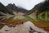 Tranquil Scene, Lake Agnes, Alberta, Canada Photographic Print by George Oze