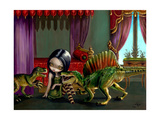 Dinosaur Friends II Giclee Print by Jasmine Becket-Griffith