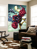 Nova No.24 Group: Gladiator, Warstar, Earthquake, Manta, Flashfire and Electron Wall Mural by Andrea Di Vito