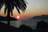 Dalmatian Coast Sunset, Korcula, Croatia Photographic Print by George Oze