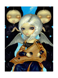 Angel with a Psaltery Giclee Print by Jasmine Becket-Griffith