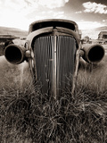 Grandpa s Car Photographic Print by George Oze