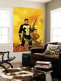 Punisher: War Zone No.6 Cover: Punisher Wall Mural by Steve Dillon
