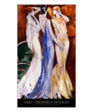 Trio with title Giclee Print by Frederick Watson