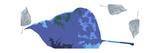 Blue Leaves Posters por Ruth Palmer