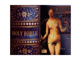 Eve Of The Bible Fotografisk tryk af Ruth Palmer