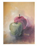 Red Apple Green Apple Giclee Print by Janel Bragg