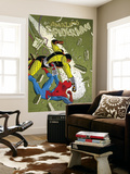 The Amazing Spider-Man 579 Cover: Spider-Man and Shocker Wall Mural by Marcos Martin