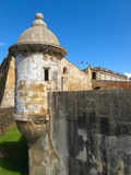 Sentry Post, San Cristobal Fort, San Juan Photographic Print by George Oze