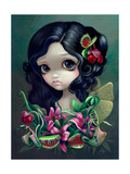 Carnivorous Bouquet Fairy Photographic Print by Jasmine Becket-Griffith