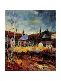 Chapel Of Havenne Giclee Print by  Ledent