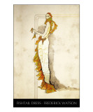 Fishtail Dress with title Giclee Print by Frederick Watson