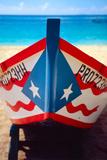 Close up of a Puerto Rican Fishing Boat Impressão fotográfica por George Oze