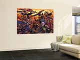 New Avengers No.50 Cover: Wolverine Wall Mural by Billy Tan