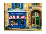 French Cheese Shop Impression giclée par Marilyn Dunlap