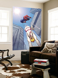 The Amazing Spider-Man 559 Cover: Spider-Man and Screwball Wall Mural by Ed McGuiness