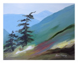 Cascade Foothills III Giclee Print by Janel Bragg