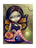 Peach, Plum, Pear Photographic Print by Jasmine Becket-Griffith