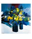 Symphonie Bleu et Jaune Giclee-trykk av Max Laigneau