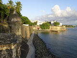 Old San Juan City Walls Photographic Print by George Oze