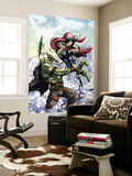 Marvel Adventures Super Heroes No.11 Cover: Thor Wall Mural by Tom Grummett
