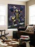 Uncanny X-Men No.511 Group: Wolverine, Cyclops, Colossus and Northstar Wall Mural by Greg Land