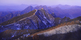 Great Wall Of China Winter Photographic Print by Charles Bowman