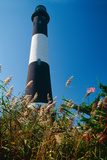 Lighthouse in the Marsh, Fire Island, New York Photographic Print by George Oze