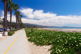 Santa Barbara Coastline, California Photographic Print by George Oze