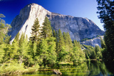 Yosemite Scenic withe the El Capitan Photographic Print by George Oze