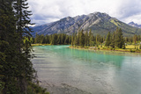Banff River in Banff, Alberta, Canada Photographic Print by George Oze