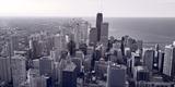 Chicago BW Photographic Print by Steve Gadomski