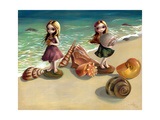 By the Seaside Photographic Print by Jasmine Becket-Griffith