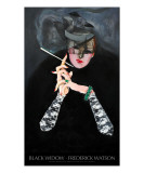 Black Widow with title Giclee Print by Frederick Watson