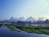 Yangshuo China II Photographic Print by Charles Bowman