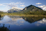 Mt Rundle, Vermilion Lakes, Banff, Canada Photographic Print by George Oze