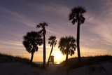 Sunset View, Clearwater Beach, Florida Photographic Print by George Oze