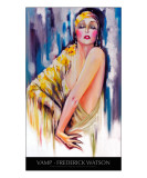 Vamp with title Giclee Print by Frederick Watson
