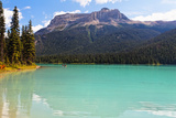 Summer Day at Emerald Lake, Canada Photographic Print by George Oze