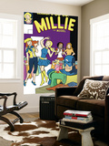 The Age Of The Sentry No.3 Group: Sentry, Millie and Chili Wall Mural by Colleen Coover