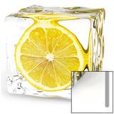 Glaçon au citron Affiche
