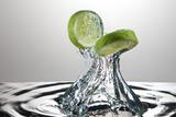 Lime Fresh Splash Reproduction photographique par Steve Gadomski