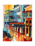 View of Napoleon House Giclee Print by Diane Millsap