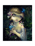 Portrait of Ophelia Photographic Print by Jasmine Becket-Griffith