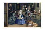 Alice and Las Meninas Giclee Print by Jasmine Becket-Griffith